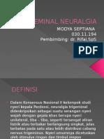 Ppt Trigeminal Neuralgia