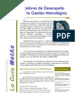 La Guia MetAs 09 01 Indicadores Gestion Metrologica