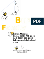 Busy Bee's Family Daycare FLYER