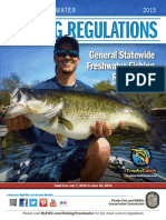 2015-16 Florida Recreational Freshwater Fishing Regulation Summary