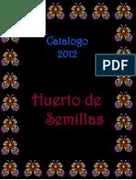 Catálogo Semillas Orgánicas 2012