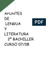 literatura resumen 2º bach