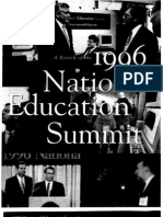 A Review of the 1996 National Education Summit