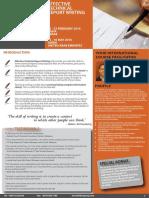 Effective Technical Report Writing 21 - 22 February 2016 Doha, Qatar / 15 - 16 May 2016 Dubai, UAE