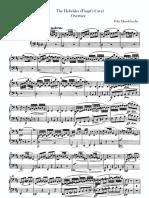 Mendelssohn Overture Hebrides