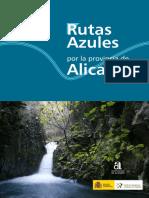 Rutas Azules en la Provincia de Alicante