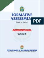 Formative Assessment Class-ix - Final Reduce_2011