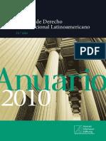 Anuario de Derecho Constitucional Latinoamericano 2010