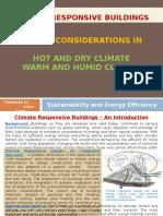 Climate Responsive Buildings