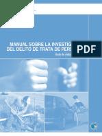 Protocolo Manual Manejo de Casos Investigación Trata de Personas UNDOC