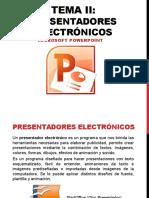 Presentadores electronicos