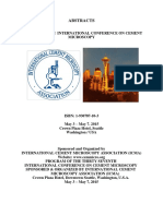 THIRTY-SEVENTH INTERNATIONAL CONFERENCE ON CEMENT MICROSCOPY