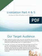 Evaluation Part 4 & 5