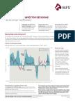 Emotion Drives Investor Decisions