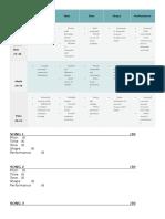 ABRSM Marking Sheet