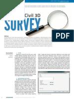 Autocad Civil 3d Survey