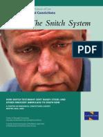 The Snitch System Innocence Project La Colaboración Eficaz