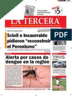 Diario La Tercera 20.01.2016