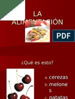5.1 Alimentación Vocabulario