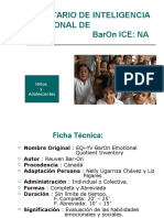 Power Con Datos de Inventario BarOn ICE