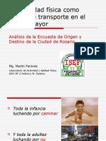 2012, Transporte en Adulto Mayor, RAFAM DICKENS
