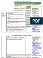 biotic and abiotic environment  7sd  planning guide with additional resources linked