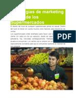 Estrategias de Marketing Dentro de Los Supermercados