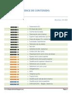 Indice de Contenido RomansCAD 3D