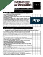 A2 Revision Checklist F215