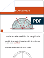 Unidades de Medida de Amplitude