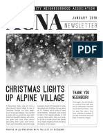 ACNA Newsletter January 2016