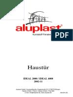 HB Haustür IDEAL 2000 Und 4000 2002-11