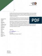 Eric Cowan letter