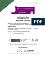 Xi Jornadas Sociología - Programa
