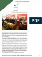 14-01-16 Pacta Pavlovich con sectores impulsar productividad y empleo - El Reportero
