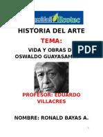 Vida y Obras de Oswaldo Guayasamin
