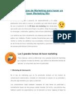 25 Estrategias de Marketing Para Hacer Un Buen Marketing