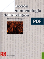 Introduccion a La Fenomenologia de La Religion