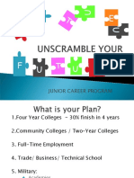 college admissions tests junior parent night presentation 2016