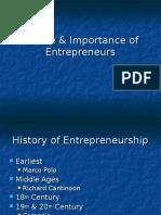 Importance of Entrepreneurs