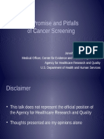 The Latest in Screening and Over-diagnosis