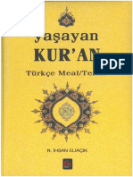 R. İhsan Eliaçık. Yaşayan Kuran (Türkçe Meal - Tefsir)
