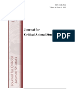 Journal of Critical Animal Studies