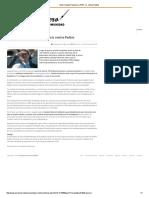 14-01-16 Insta Claudia Pavlovich a PGR a ir contra Padrés - El Reportero