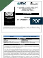 Guía Auditoría i 2016 Eco