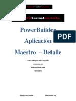 Aplicacion Maestro Detalle en PowerBuilder