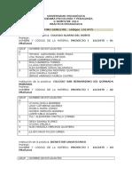 Listado de Vii a X- Semestre - Registro 2014 II