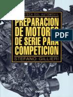 Biblioteca de Mecánica Del Automovil Stefano Gillieri