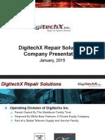 Digitechx Inc. Repair Services