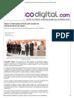 13-01-16 Inicia Gobernadora Pavlovich rescate de infraestructura de salud - Peñasco Digital